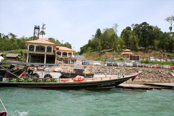 Посадка на прогулку по озеру Чао Лонг
