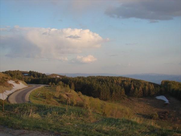 Дорога в Бухтарму