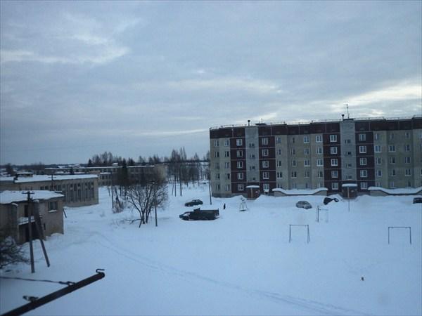 Старополье. Вид из окна квартиры