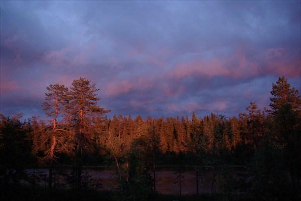 Закат на Воттовааре