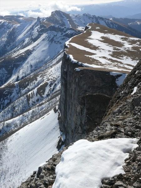 Скальные обрывы Ачешбоков