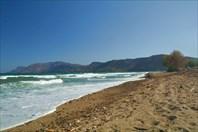 Характер пляжа в Drapanias