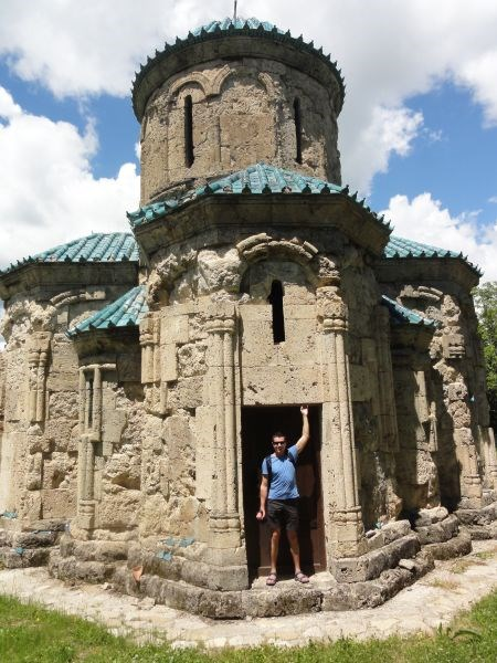 Купольная церковь-тетраконх 10 века, Кветера
