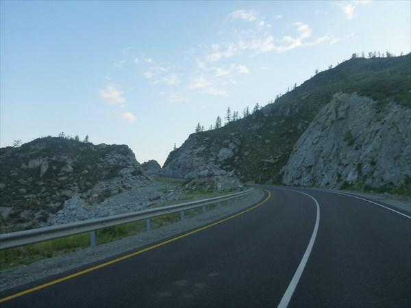 Подъём в перевал Чике Таман.