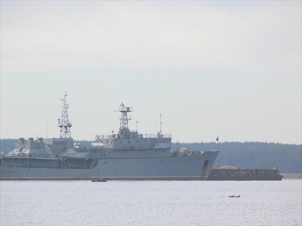 Порт в Приморске